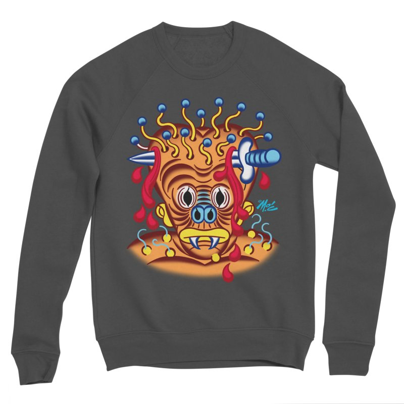 "'Leave it to Beaver' Monster Shirt! ""Whitey"" version! Men's Sponge Fleece Sweatshirt by Mitch O'Connell"