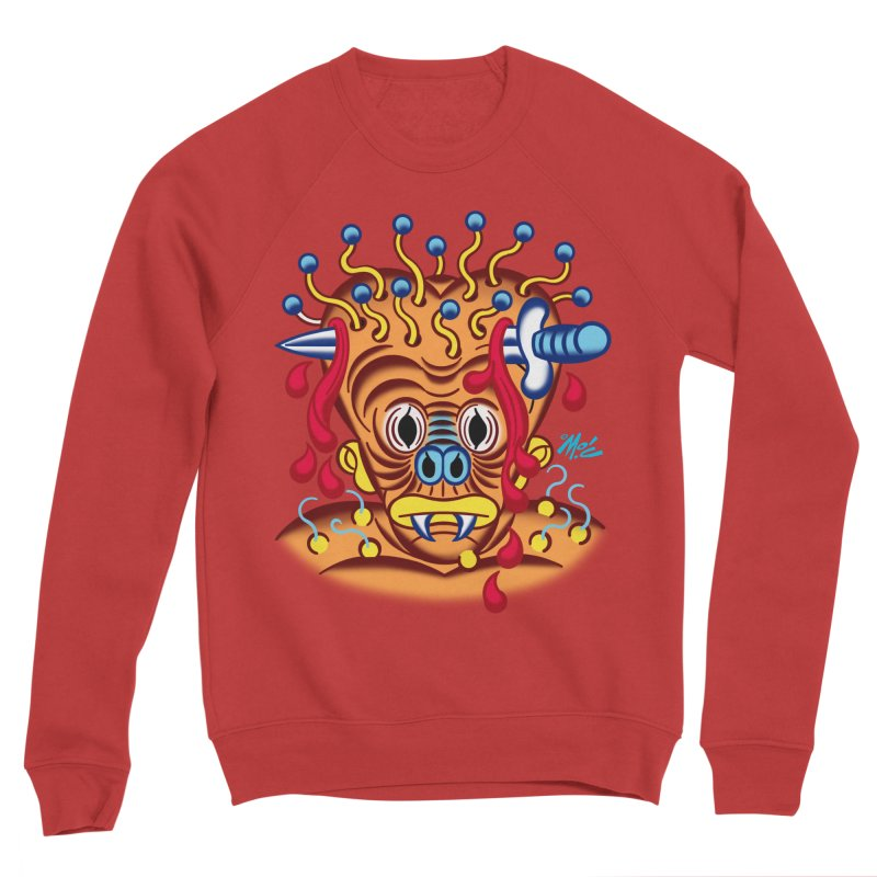 "'Leave it to Beaver' Monster Shirt! ""Whitey"" version! Men's Sponge Fleece Sweatshirt by Mitch O'Connell"