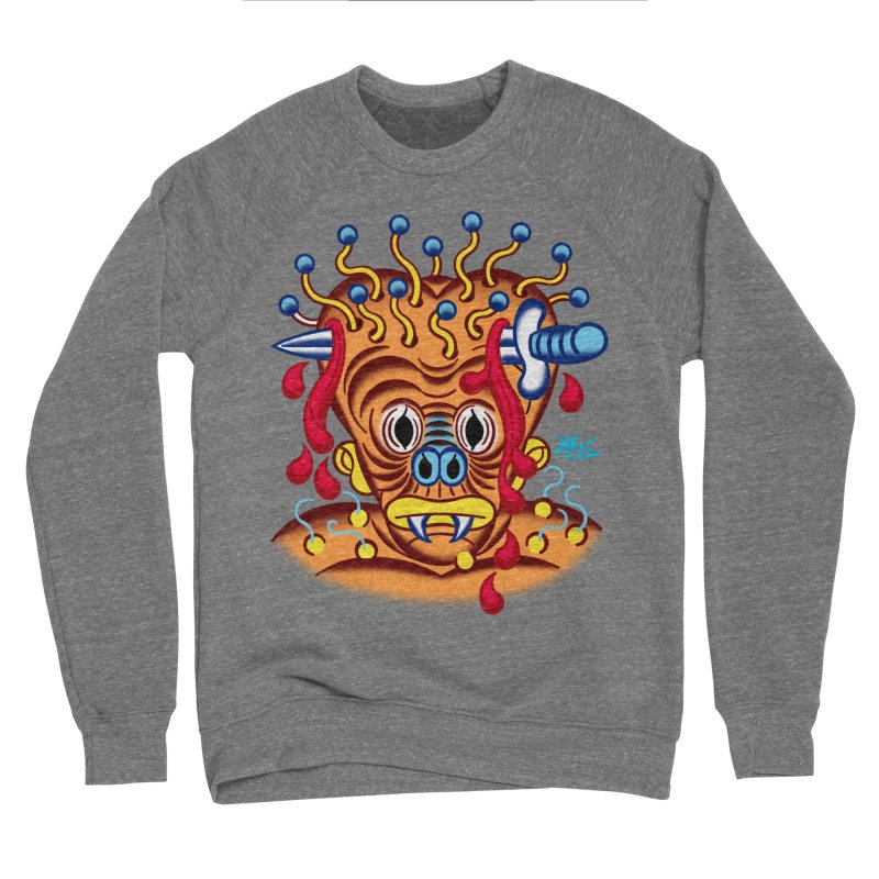 "'Leave it to Beaver' Monster Shirt! ""Whitey"" version! Women's Sponge Fleece Sweatshirt by Mitch O'Connell"