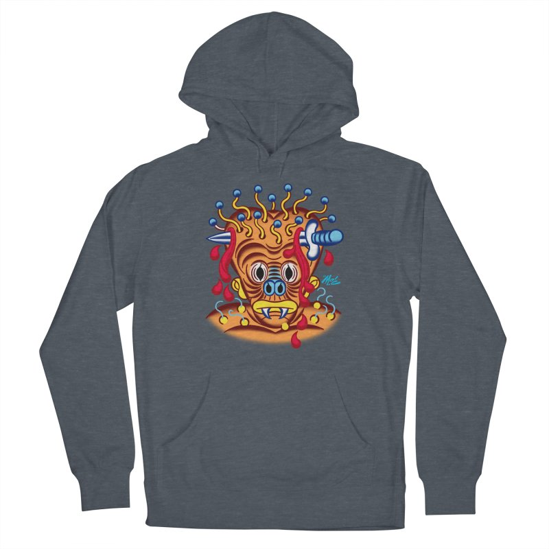"""'Leave it to Beaver' Monster Shirt! """"Whitey"""" version! Men's Pullover Hoody by Mitch O'Connell"""