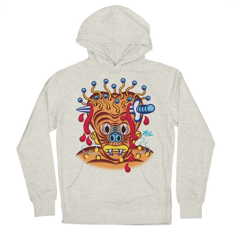 """'Leave it to Beaver' Monster Shirt! """"Whitey"""" version! Men's French Terry Pullover Hoody by Mitch O'Connell"""