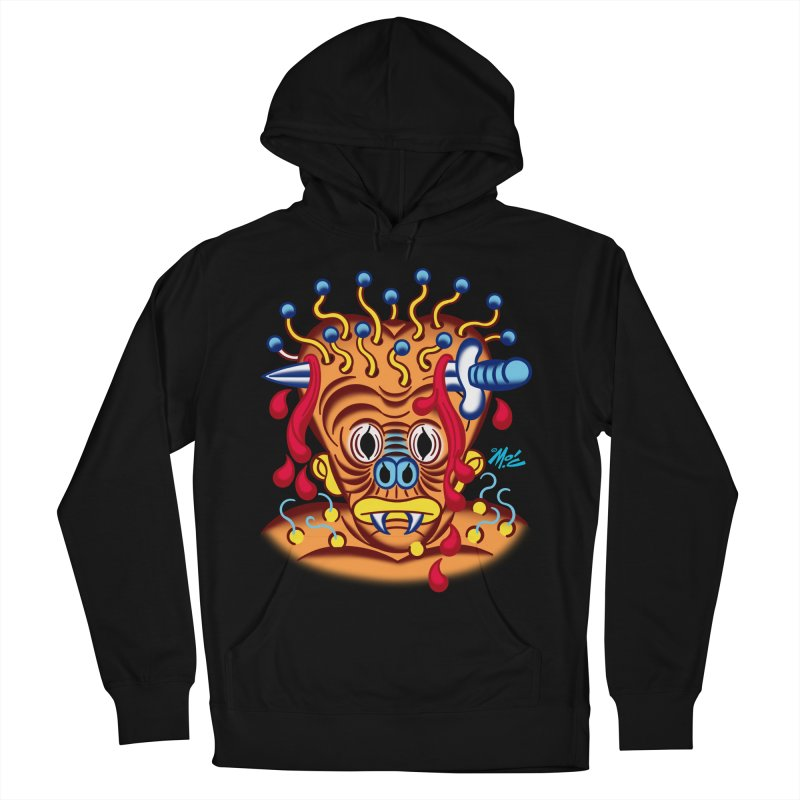 "'Leave it to Beaver' Monster Shirt! ""Whitey"" version! Men's French Terry Pullover Hoody by Mitch O'Connell"