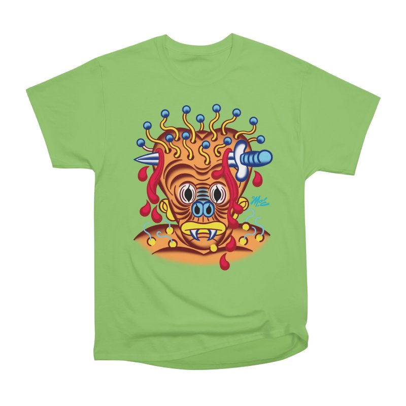 """'Leave it to Beaver' Monster Shirt! """"Whitey"""" version! Men's Heavyweight T-Shirt by Mitch O'Connell"""