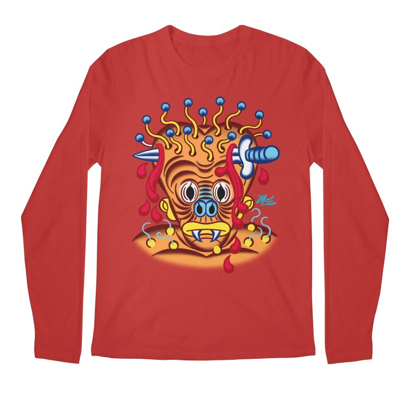 """'Leave it to Beaver' Monster Shirt! """"Whitey"""" version! Men's Regular Longsleeve T-Shirt by Mitch O'Connell"""