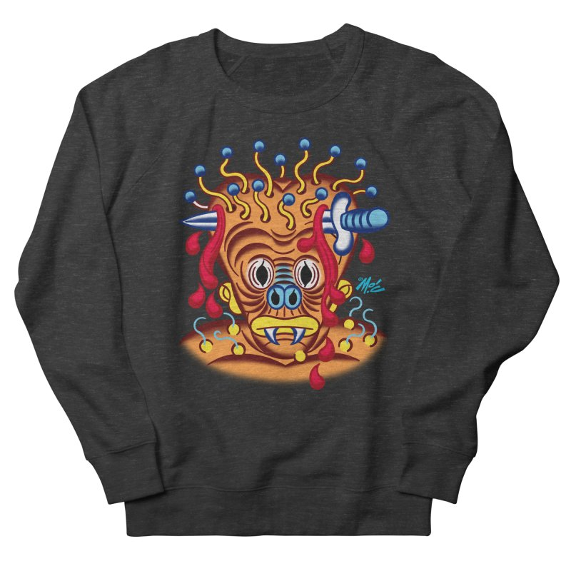 """'Leave it to Beaver' Monster Shirt! """"Whitey"""" version! Women's French Terry Sweatshirt by Mitch O'Connell"""
