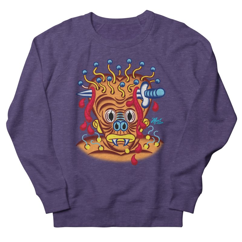 "'Leave it to Beaver' Monster Shirt! ""Whitey"" version! Women's French Terry Sweatshirt by Mitch O'Connell"