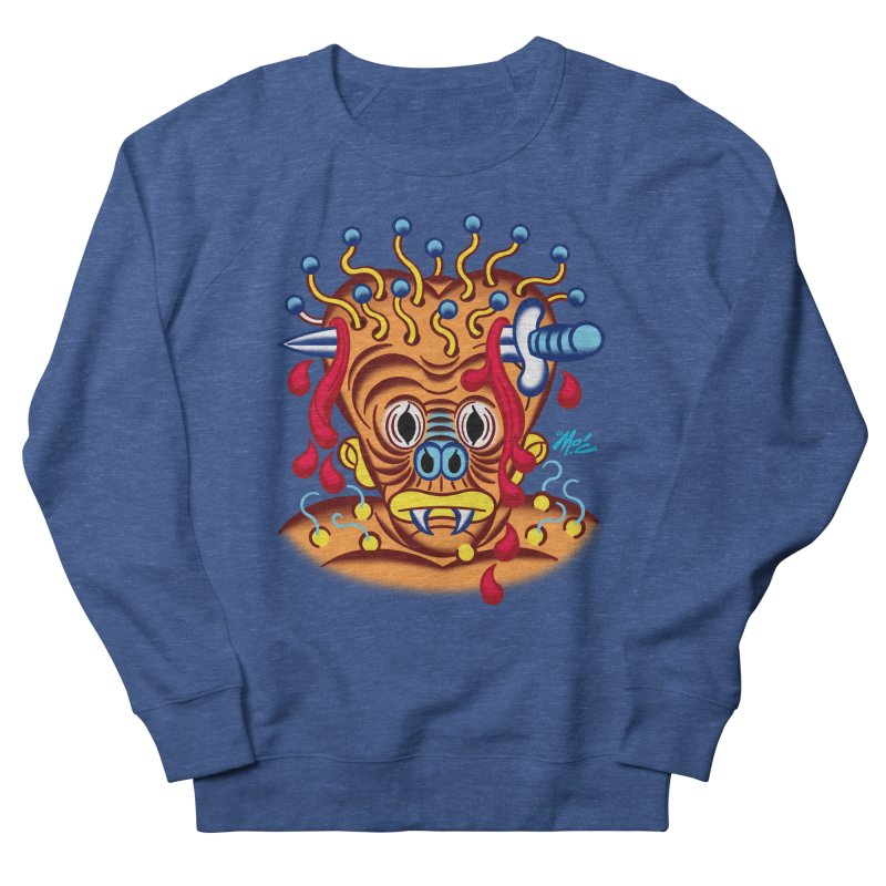 "'Leave it to Beaver' Monster Shirt! ""Whitey"" version! Men's French Terry Sweatshirt by Mitch O'Connell"