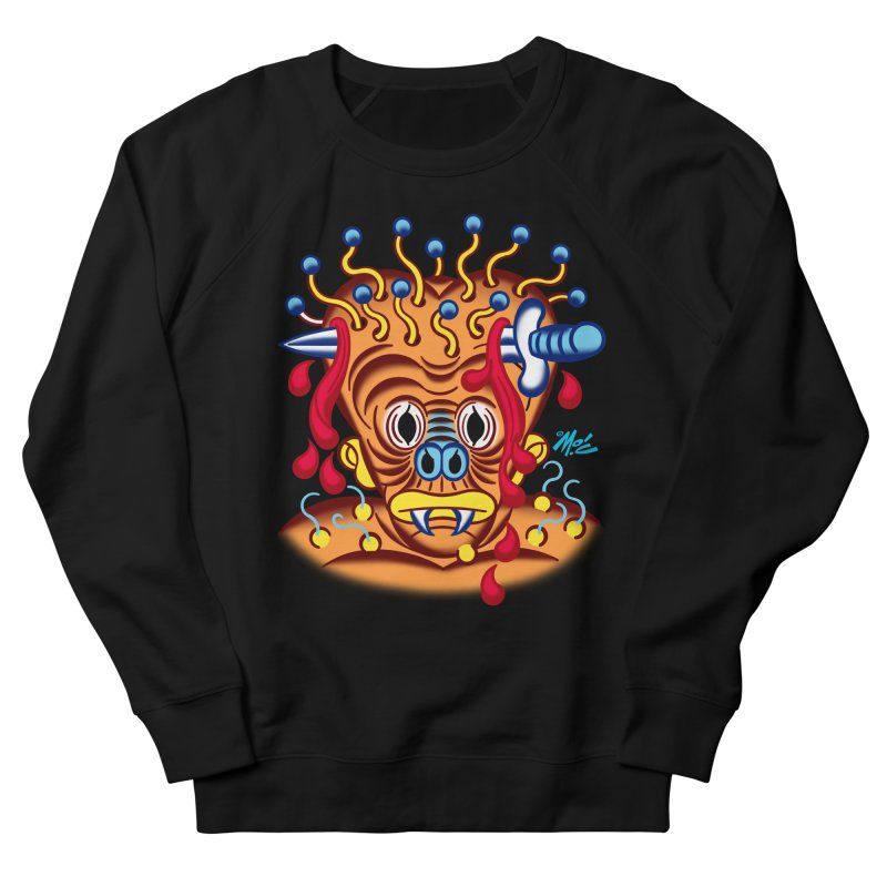 """'Leave it to Beaver' Monster Shirt! """"Whitey"""" version! Men's French Terry Sweatshirt by Mitch O'Connell"""