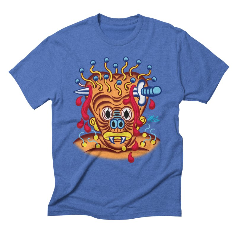 "'Leave it to Beaver' Monster Shirt! ""Whitey"" version! Men's T-Shirt by Mitch O'Connell"