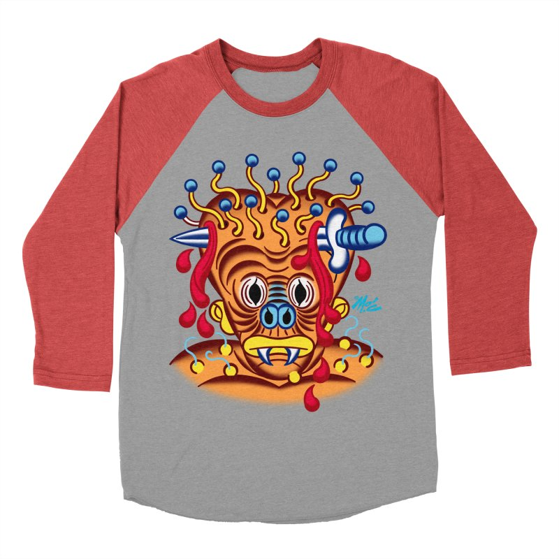 """'Leave it to Beaver' Monster Shirt! """"Whitey"""" version! Men's Longsleeve T-Shirt by Mitch O'Connell"""