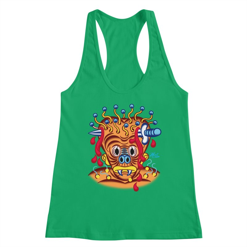 """'Leave it to Beaver' Monster Shirt! """"Whitey"""" version! Women's Tank by Mitch O'Connell"""