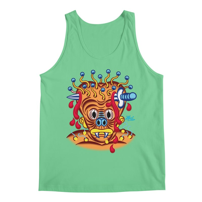 """'Leave it to Beaver' Monster Shirt! """"Whitey"""" version! Men's Regular Tank by Mitch O'Connell"""