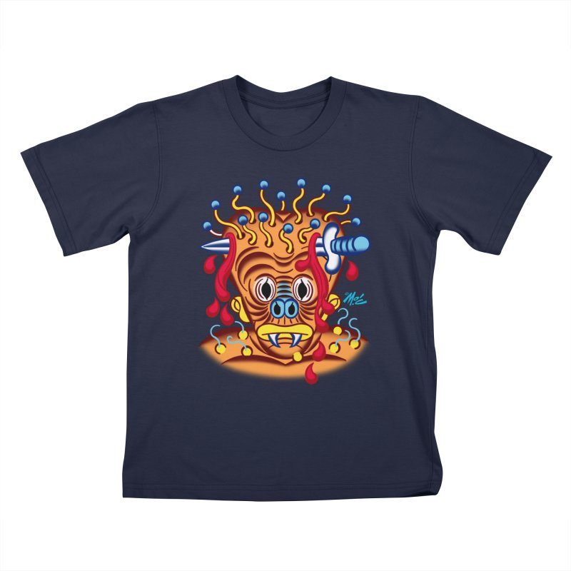 "'Leave it to Beaver' Monster Shirt! ""Whitey"" version! Kids T-Shirt by Mitch O'Connell"