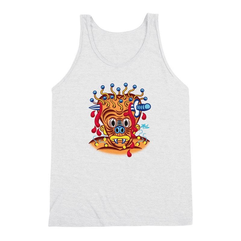 "'Leave it to Beaver' Monster Shirt! ""Whitey"" version! Men's Triblend Tank by Mitch O'Connell"