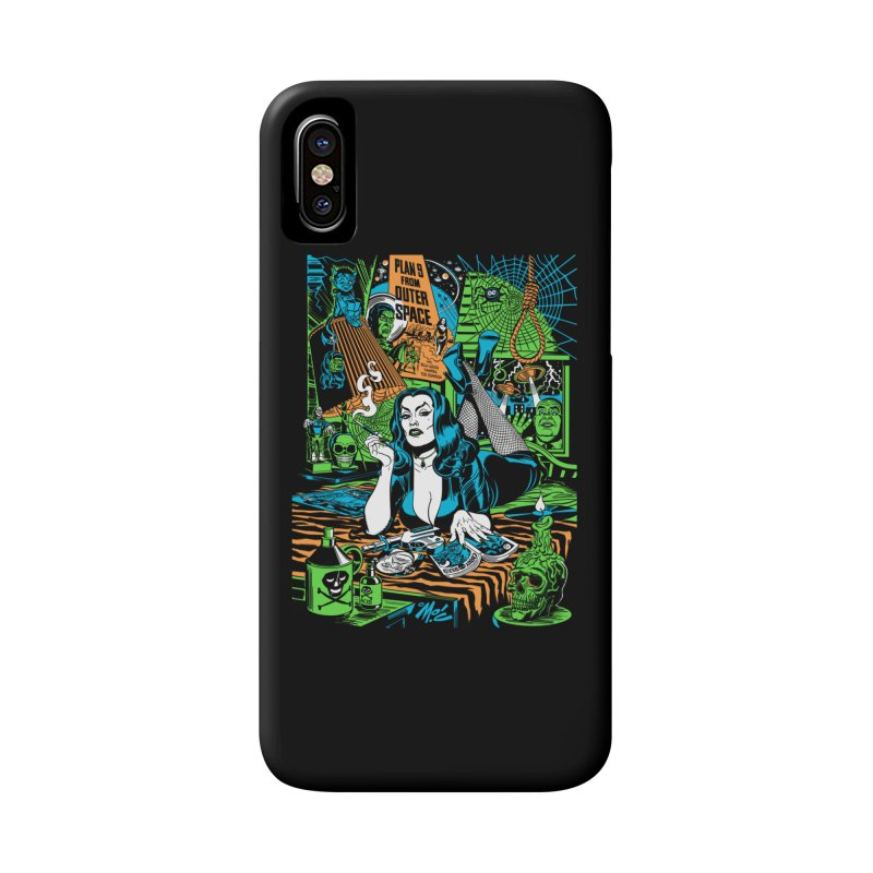 Plan 9 Pulp Fiction! Accessories Phone Case by Mitch O'Connell