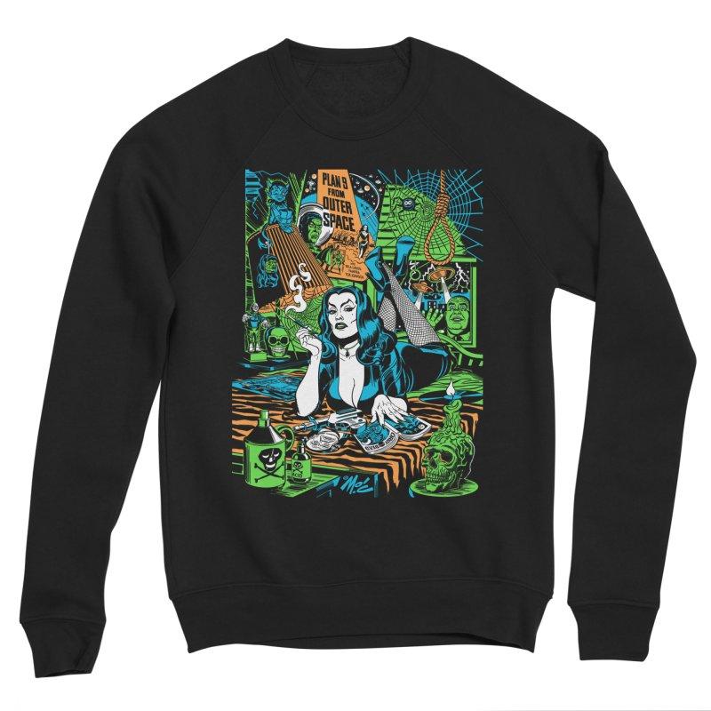 Plan 9 Pulp Fiction! Men's Sponge Fleece Sweatshirt by Mitch O'Connell
