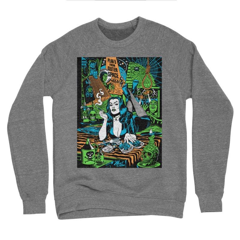 Plan 9 Pulp Fiction! Women's Sponge Fleece Sweatshirt by Mitch O'Connell