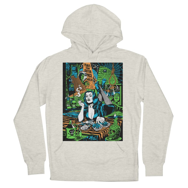 Plan 9 Pulp Fiction! Men's French Terry Pullover Hoody by Mitch O'Connell