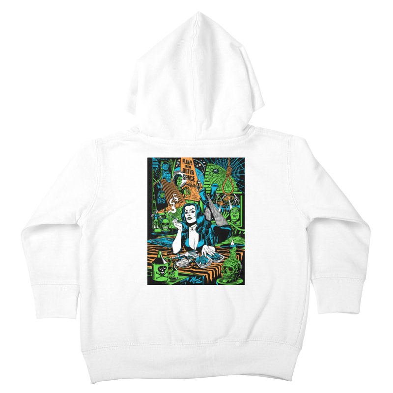 Plan 9 Pulp Fiction! Kids Toddler Zip-Up Hoody by Mitch O'Connell