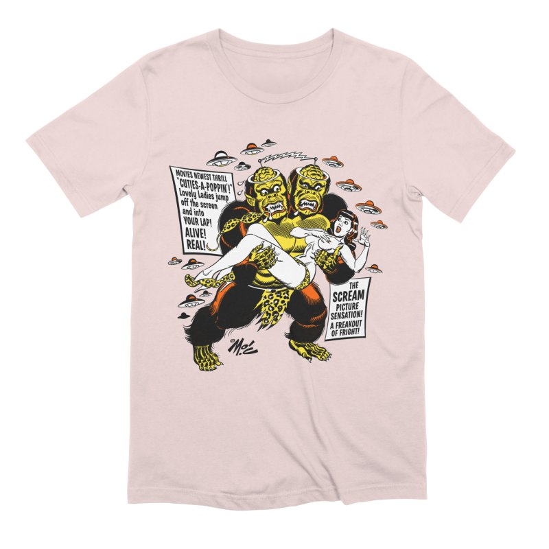 ALIVE! REAL! Men's Extra Soft T-Shirt by Mitch O'Connell