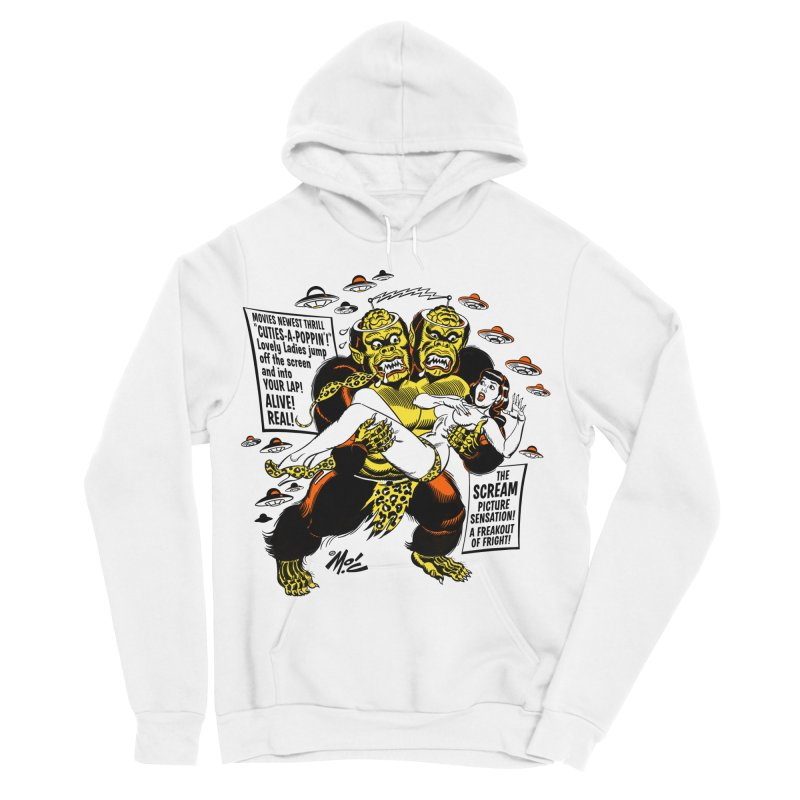 ALIVE! REAL! Women's Pullover Hoody by Mitch O'Connell
