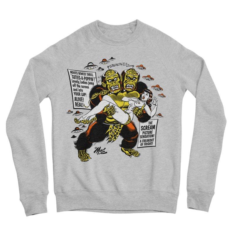 ALIVE! REAL! Men's Sponge Fleece Sweatshirt by Mitch O'Connell