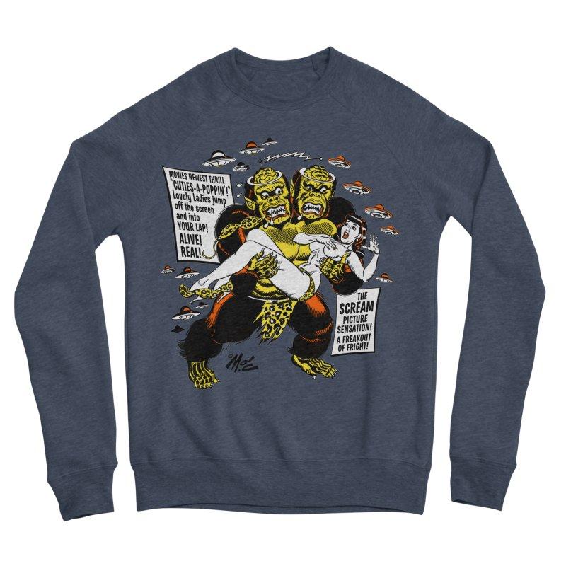 ALIVE! REAL! Women's Sponge Fleece Sweatshirt by Mitch O'Connell