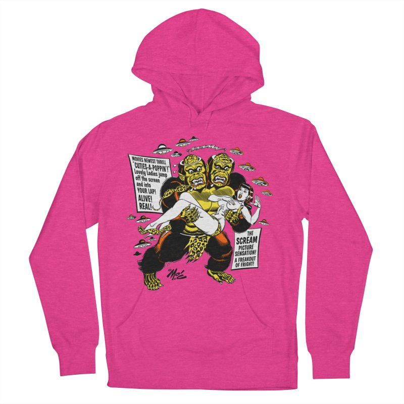 ALIVE! REAL! Women's French Terry Pullover Hoody by Mitch O'Connell