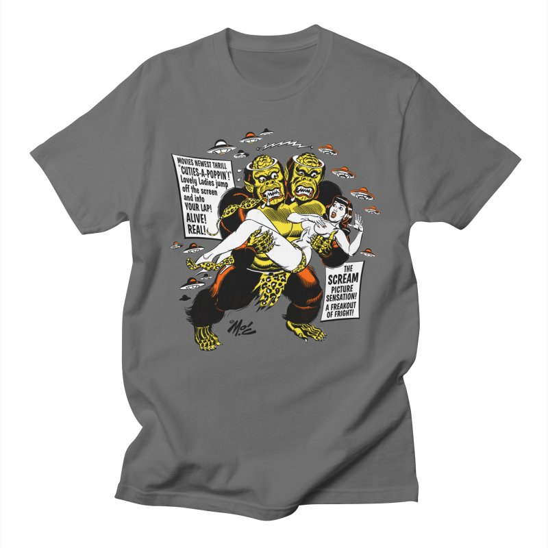 ALIVE! REAL! Women's Regular Unisex T-Shirt by Mitch O'Connell