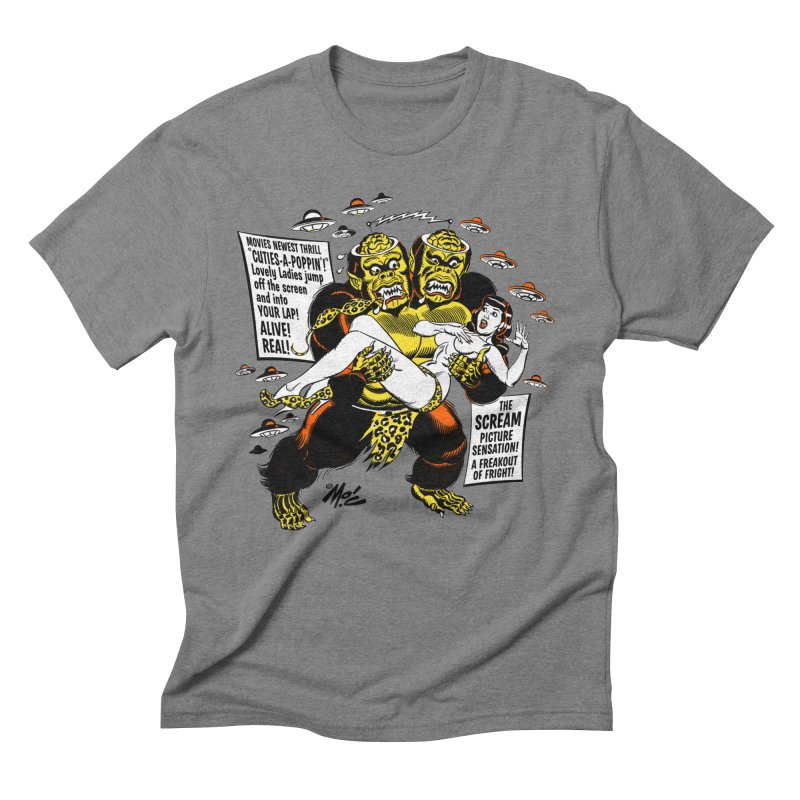 ALIVE! REAL! Men's Triblend T-Shirt by Mitch O'Connell