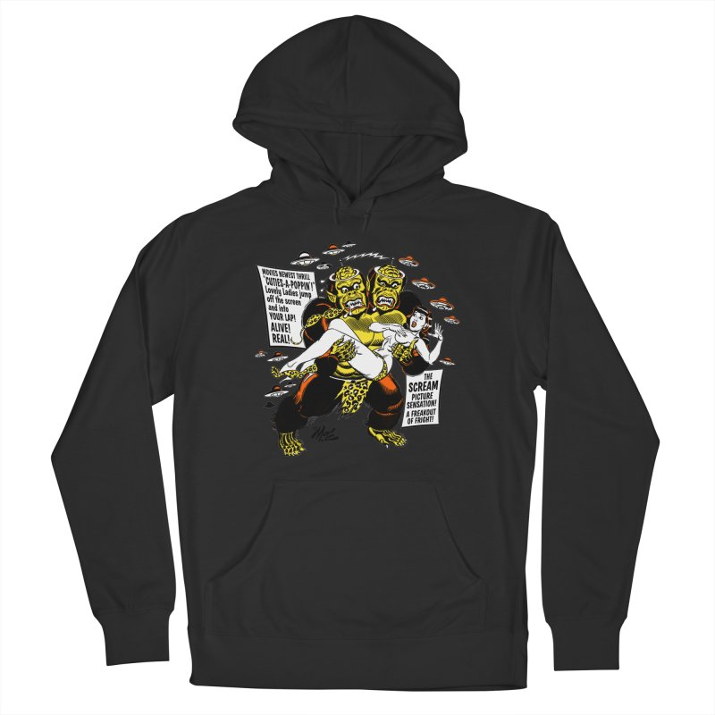 ALIVE! REAL! Men's French Terry Pullover Hoody by Mitch O'Connell