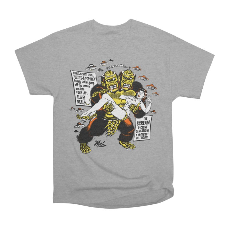 ALIVE! REAL! Women's Heavyweight Unisex T-Shirt by Mitch O'Connell