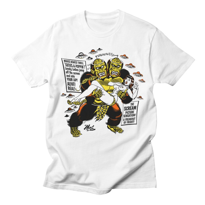 ALIVE! REAL! Men's T-Shirt by Mitch O'Connell