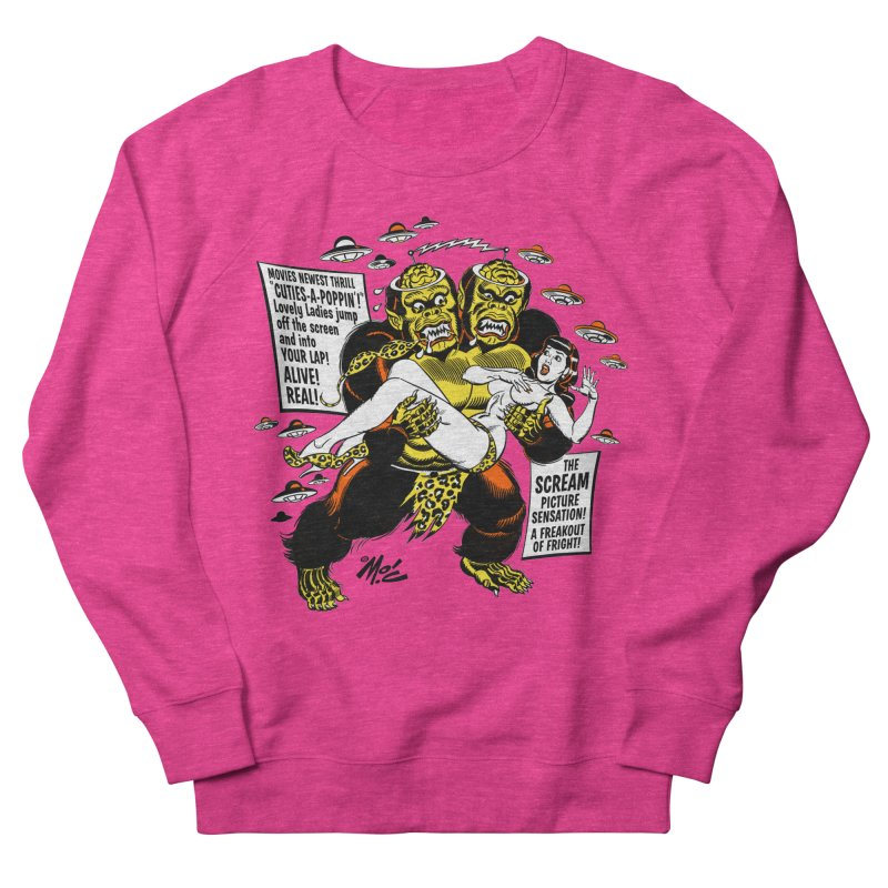 ALIVE! REAL! Women's French Terry Sweatshirt by Mitch O'Connell
