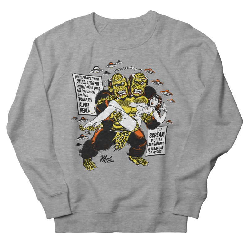 ALIVE! REAL! Men's French Terry Sweatshirt by Mitch O'Connell