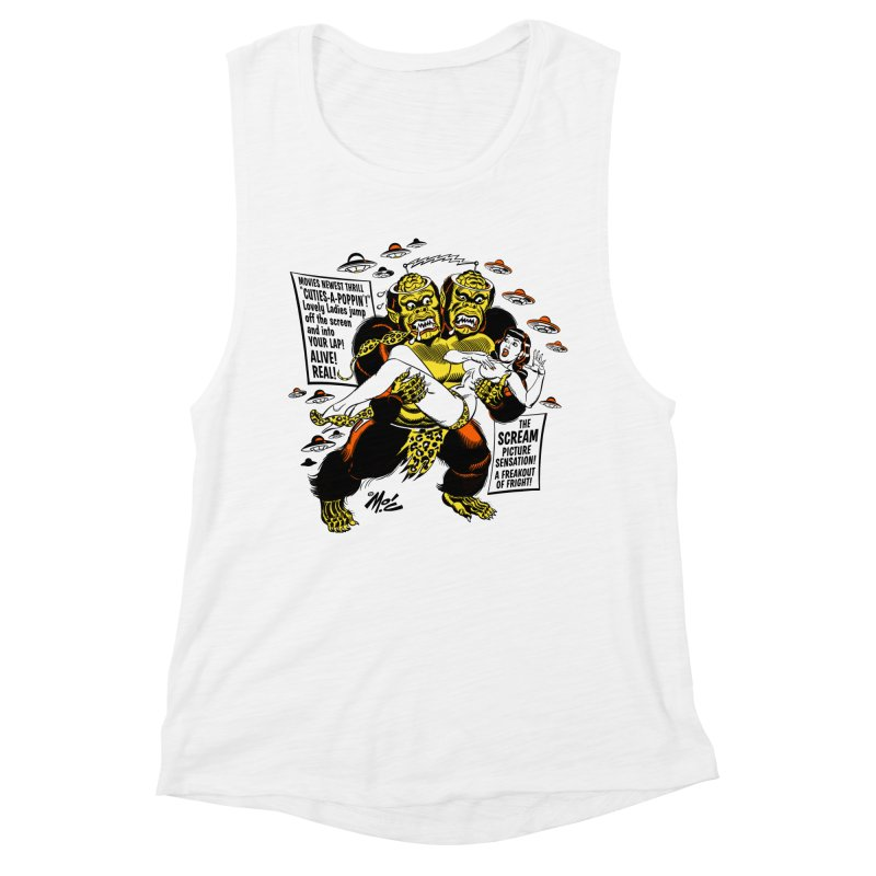 ALIVE! REAL! Women's Muscle Tank by Mitch O'Connell