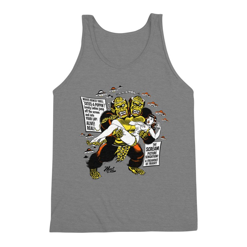 ALIVE! REAL! Men's Triblend Tank by Mitch O'Connell