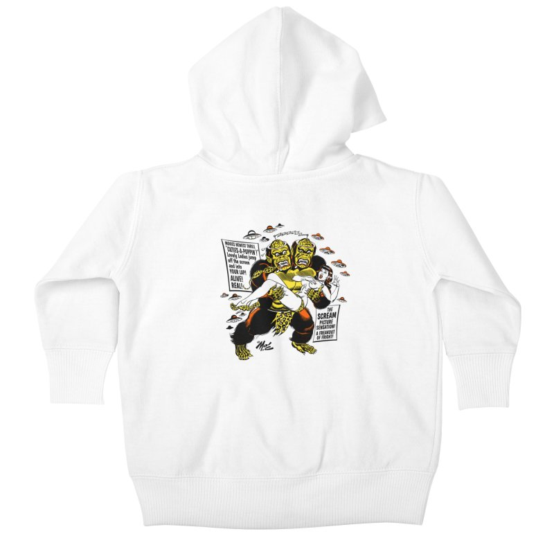 ALIVE! REAL! Kids Baby Zip-Up Hoody by Mitch O'Connell