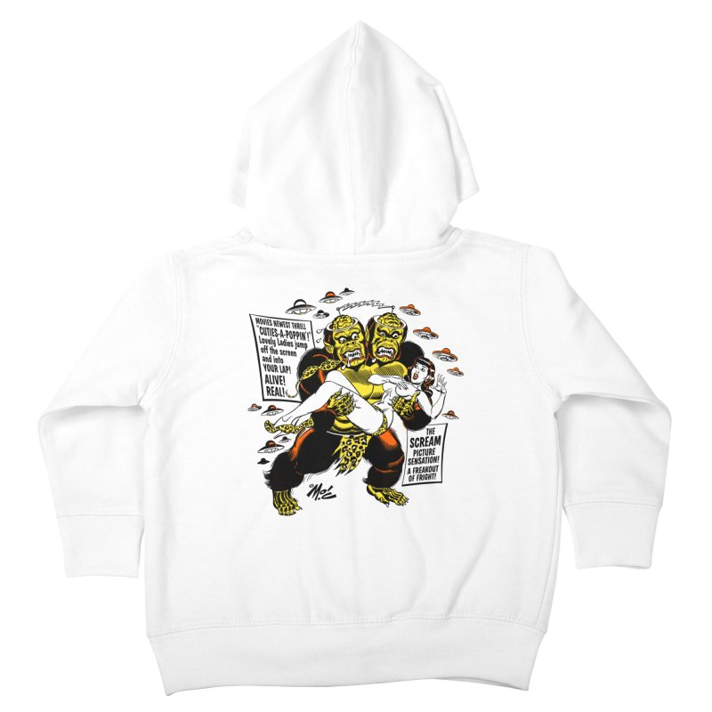 ALIVE! REAL! Kids Toddler Zip-Up Hoody by Mitch O'Connell