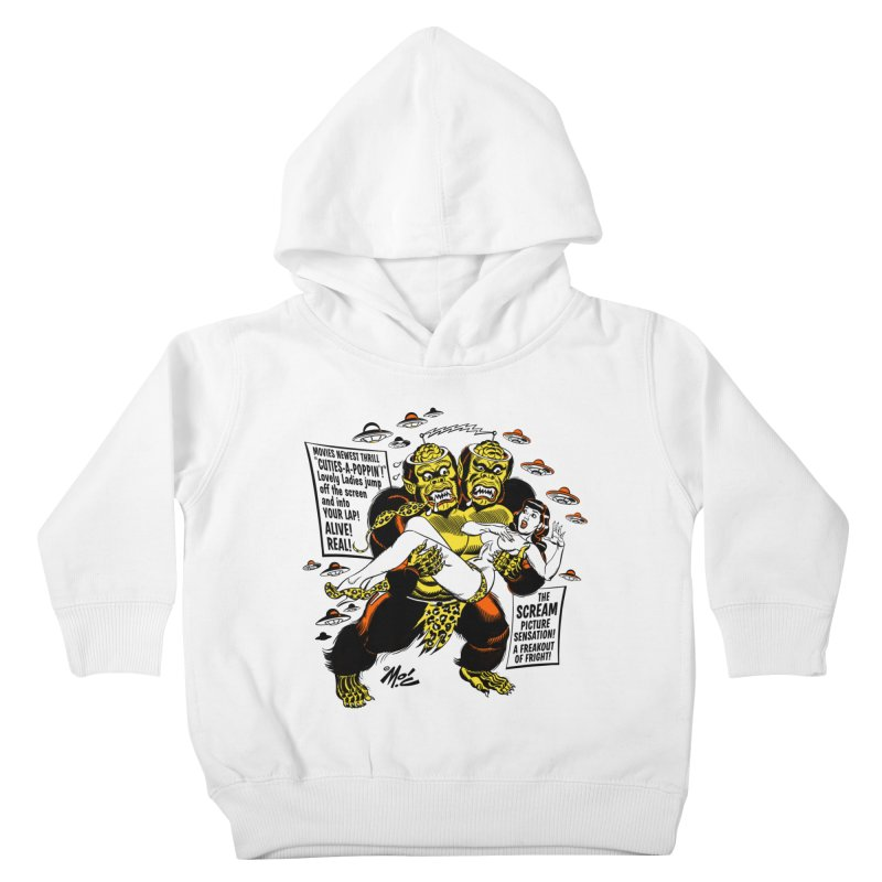 ALIVE! REAL! Kids Toddler Pullover Hoody by Mitch O'Connell