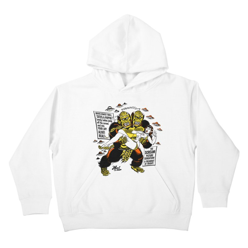 ALIVE! REAL! Kids Pullover Hoody by Mitch O'Connell