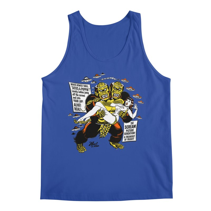 ALIVE! REAL! Men's Tank by Mitch O'Connell