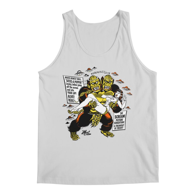ALIVE! REAL! Men's Regular Tank by Mitch O'Connell