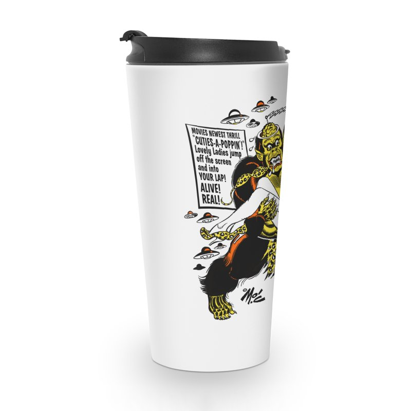 ALIVE! REAL! Accessories Travel Mug by Mitch O'Connell