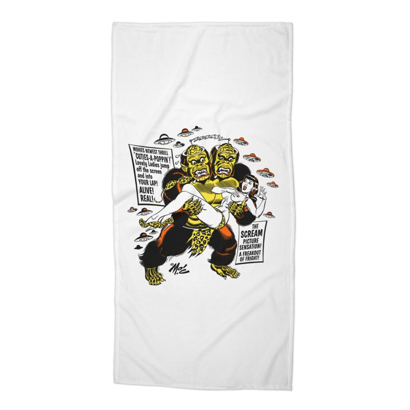 ALIVE! REAL! Accessories Beach Towel by Mitch O'Connell