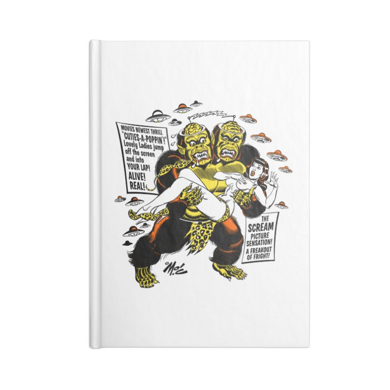 ALIVE! REAL! Accessories Lined Journal Notebook by Mitch O'Connell