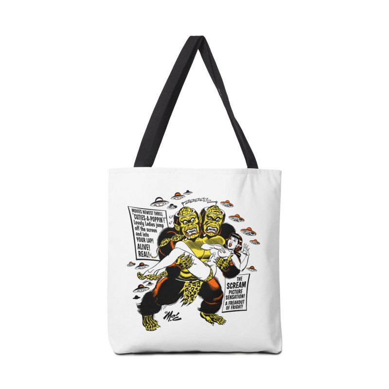 ALIVE! REAL! Accessories Tote Bag Bag by Mitch O'Connell