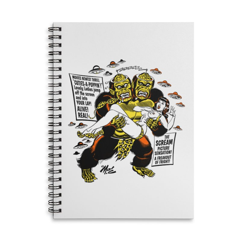 ALIVE! REAL! Accessories Notebook by Mitch O'Connell