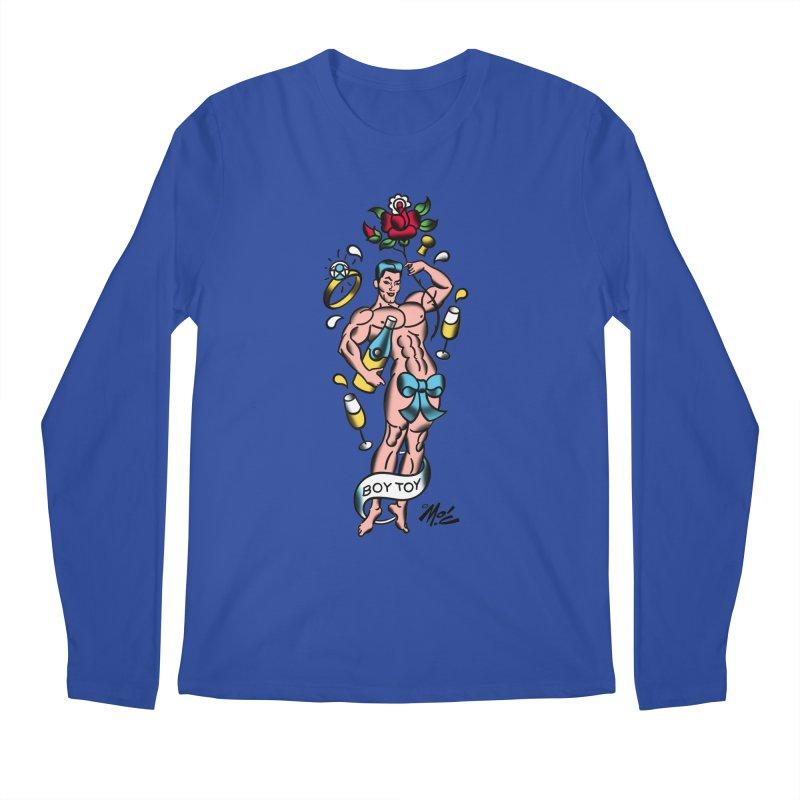 "Beefcake Buddies- ""Boy Toy""! Men's Regular Longsleeve T-Shirt by Mitch O'Connell"