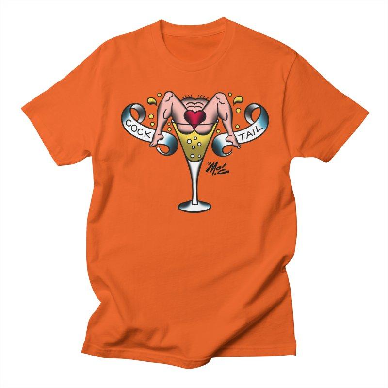 "Beefcake Buddies- ""Cock Tail""! Women's Regular Unisex T-Shirt by Mitch O'Connell"